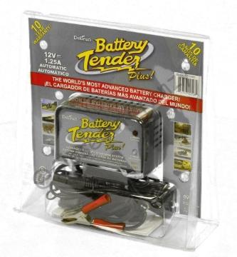 Deltran 12V Battery Tender Plus 1.25 Amp Battery Charger 021-0128